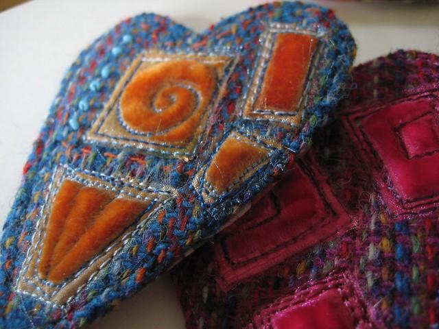 Heart Tweed