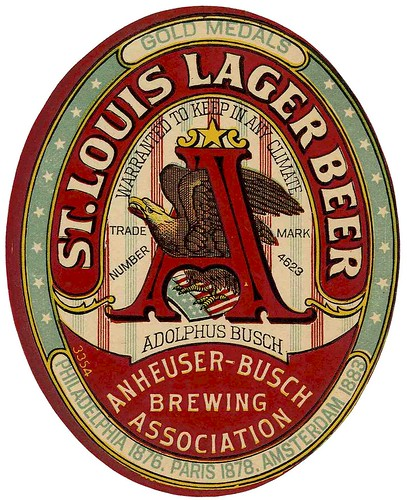 Anheuser-Busch Brewing Assn   St. Louis Lager Beer by carlylehold