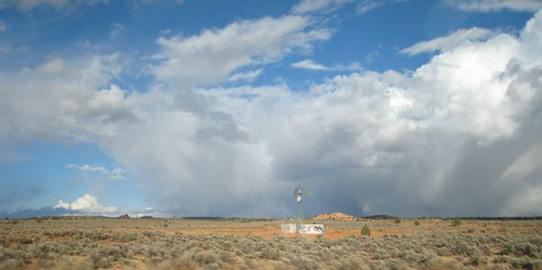 REZ, Clouds, Arizona, Southwest, windmill, … IMG_1279