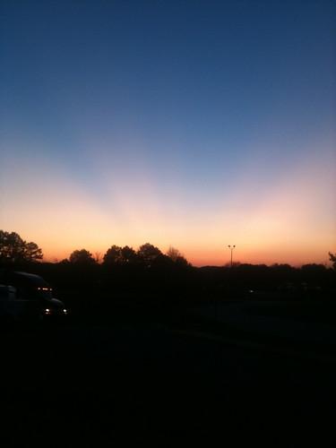 sunset restarea