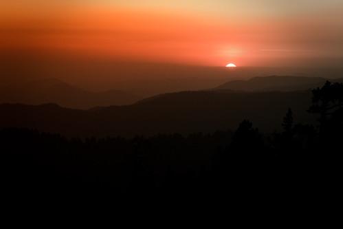 california sunset usa nature weather silhouette forest 05 date 2008 characteristics kingscanyonnationalpark bigbaldy