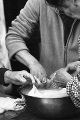 Rice cake making