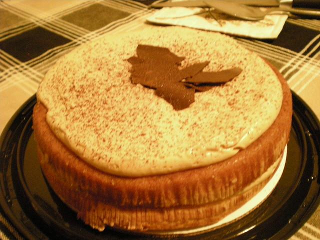 Italian Dessert With Coffee And Liquor Soaked Layers Of Sponge Cake