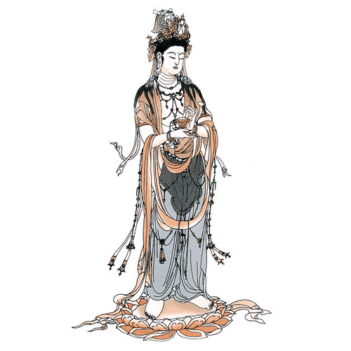 大势至菩萨(Mahastamaprapta)