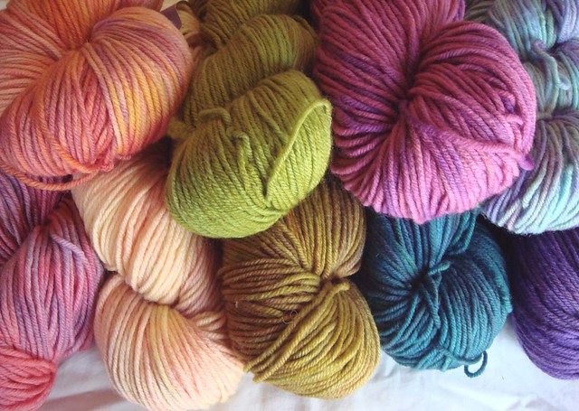 yarn for tulips