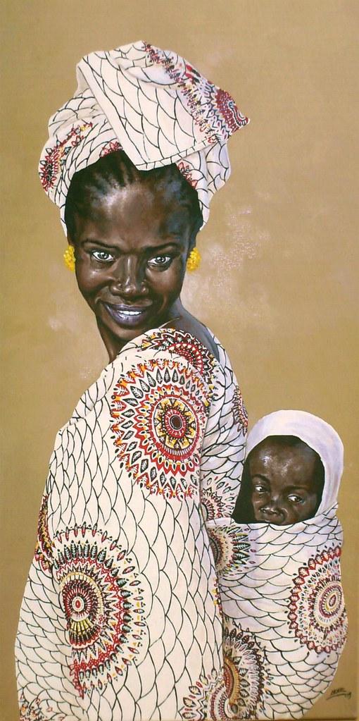 Dessin De Femme Africaine dessin de christophe novel : femme africaine www.novel-gra… | flickr