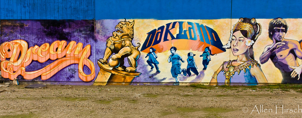 Dream Oakland mural