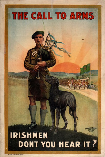 Irish WW1 Recruitment Poster