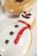 Snow Man, Holiday Dozen Box, Krispy Kreme Doughnuts, Shinjuku