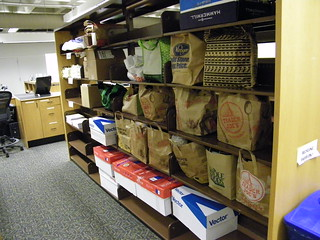 2/365/1097 (June 13, 2011) – First Annual Food Drive at the Kresge Business Administration Library at Ross School of Business, University of Michigan
