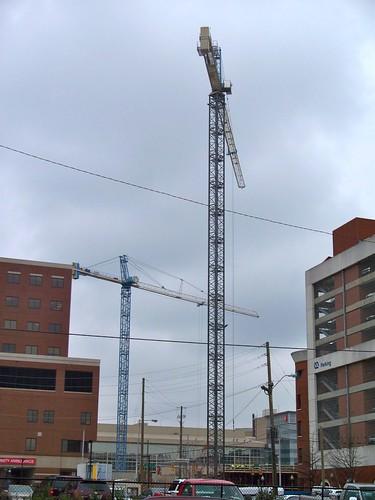 Construction on Hospital Birmingham