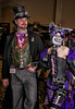 Steampunk Chessier Cat And Her Man