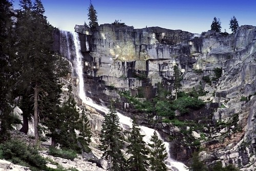 Grizzly Falls -- Trinity Alps Wilderness