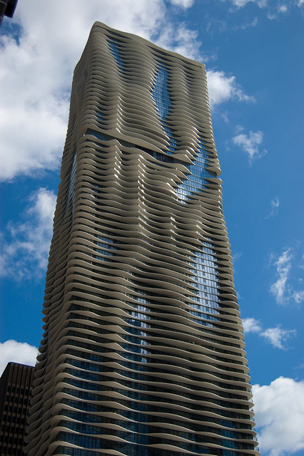 Chicago Wave Building Flickr Photo Sharing