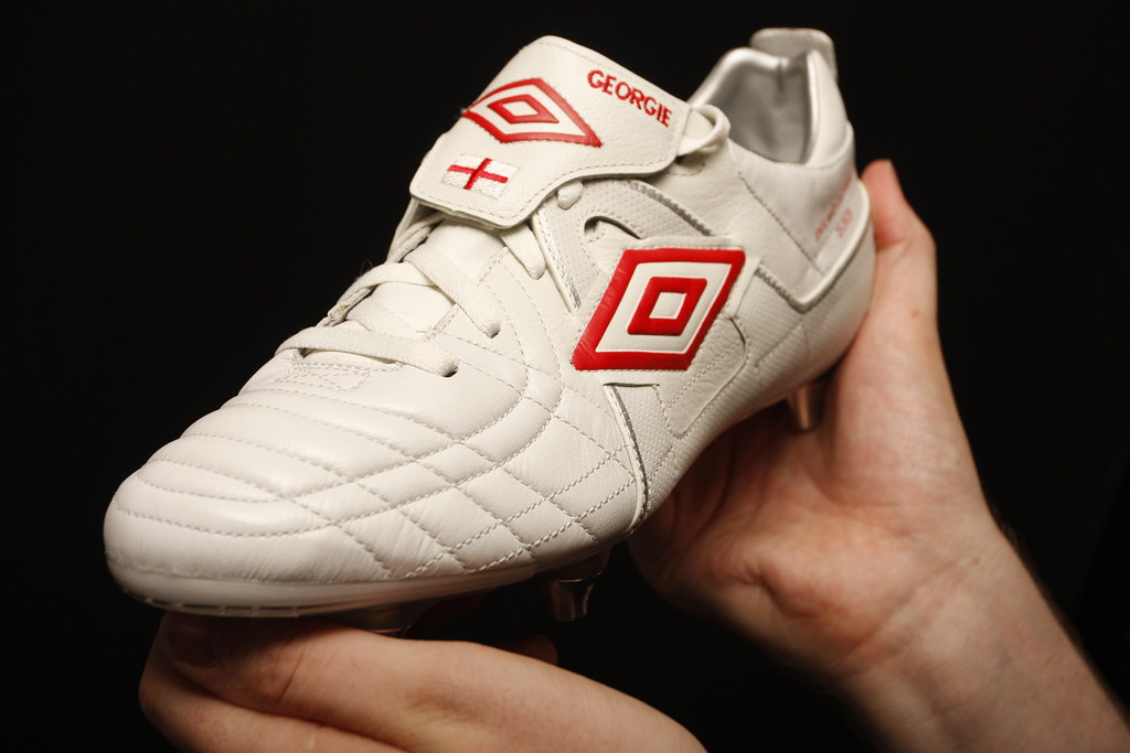 best place various styles latest design Umbro Speciali Boots - White/Red Johnt Terry England versi ...