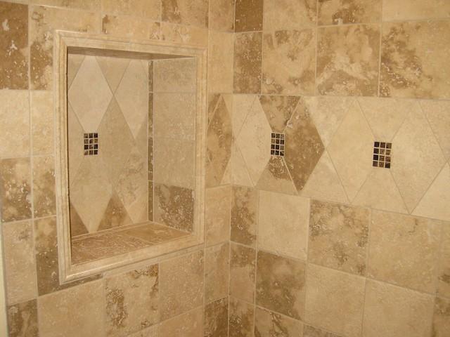 recessed shower shelf flickr photo sharing. Black Bedroom Furniture Sets. Home Design Ideas