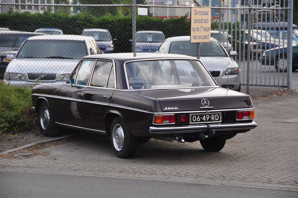 1971 mercedes-benz 220 d | michiel2005 | flickr
