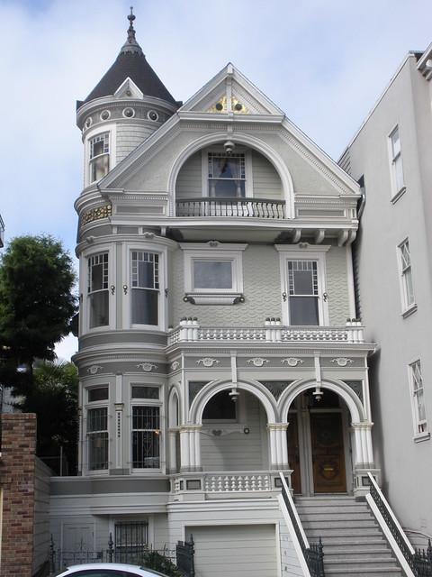 Queen Anne Style In San Francisco Pierce Stree