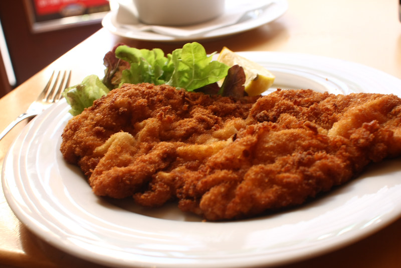 First Wiener Schnitzel
