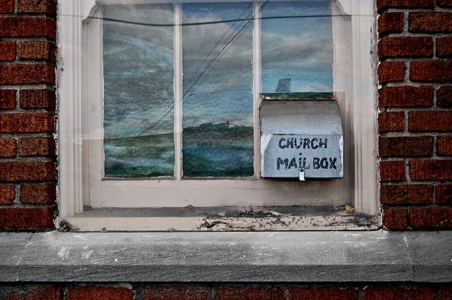 church mail box