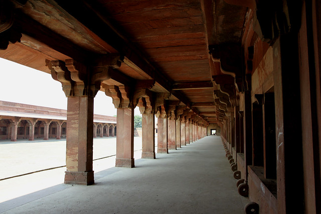 fatehpur sikri palace birbal house