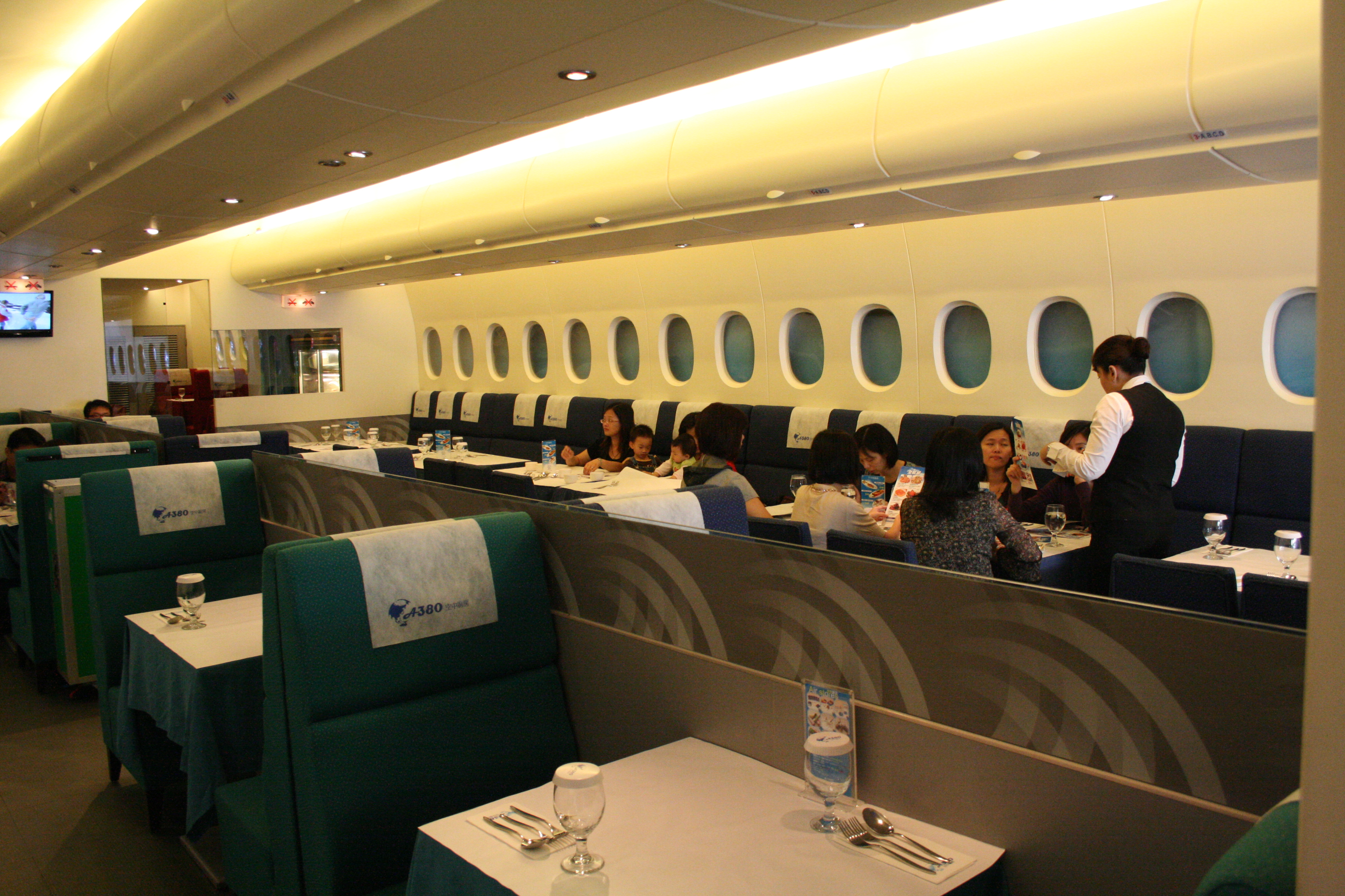 Airplane Themed Restaurant, Taiwan | Top 11 Themed Cafes
