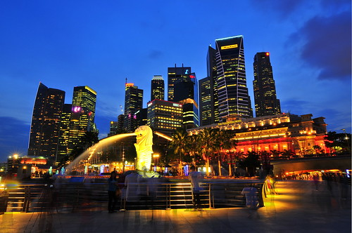 Merlion, at the heart of Singapore!