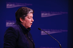 Secretary of the U.S. Department of Homeland Security Janet Napolitano