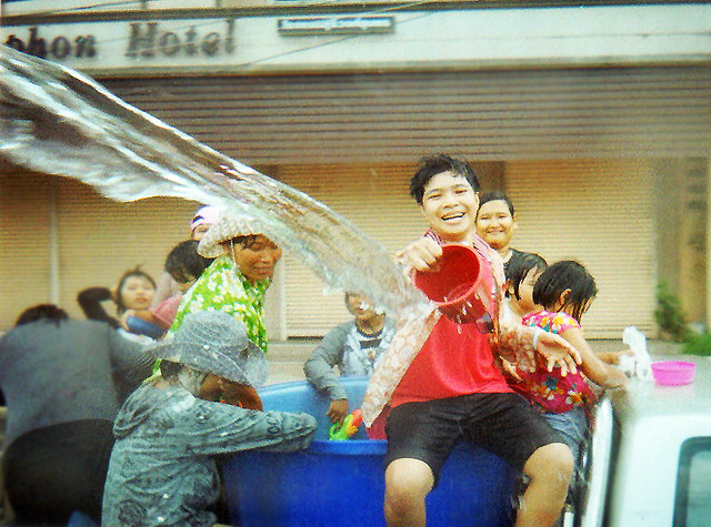 Songkran in Chumphon