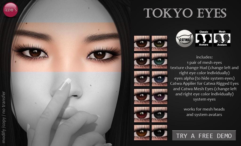 Tokyo Eyes - SecondLifeHub.com