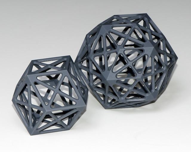 Rhombic polyhedra small
