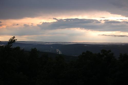 road sunset mountain newyork geotagged highway pennsylvania dsc4966 geo:lat=41373347 geo:lon=74639826
