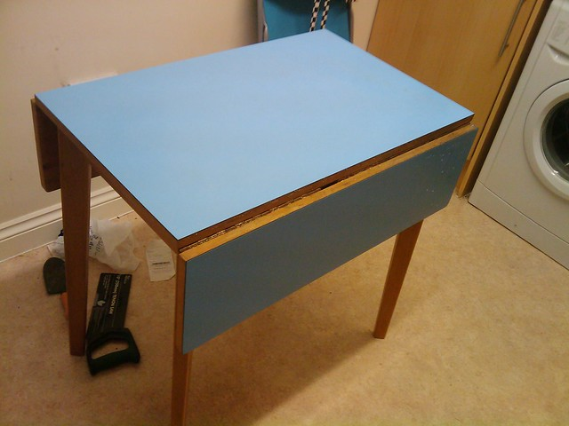 Small fold away table flickr photo sharing - Fold away table ...