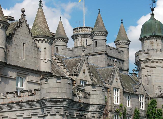Balmoral Castle turrets