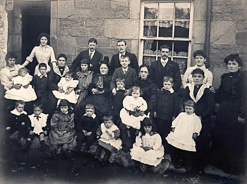 "The Ramsay Family, ""Reedmakar's Close"", Forfar, circa 1900 by ronramstew"