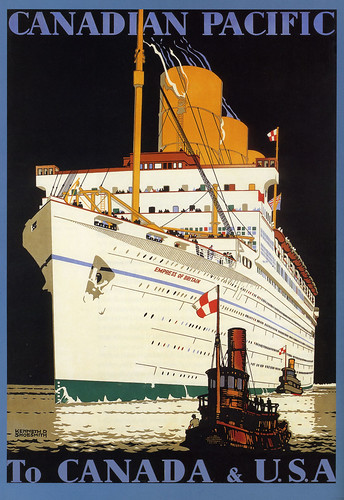 Canadian Pacific -Empress of Britain