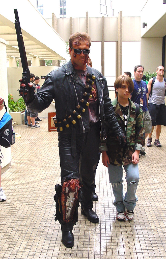 Terminator and John Connor