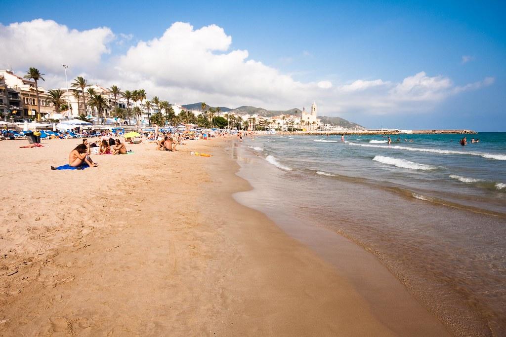 Sitges beach испания