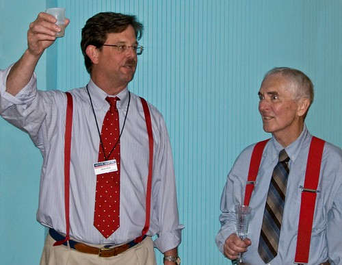 President White & Don at his retirement party