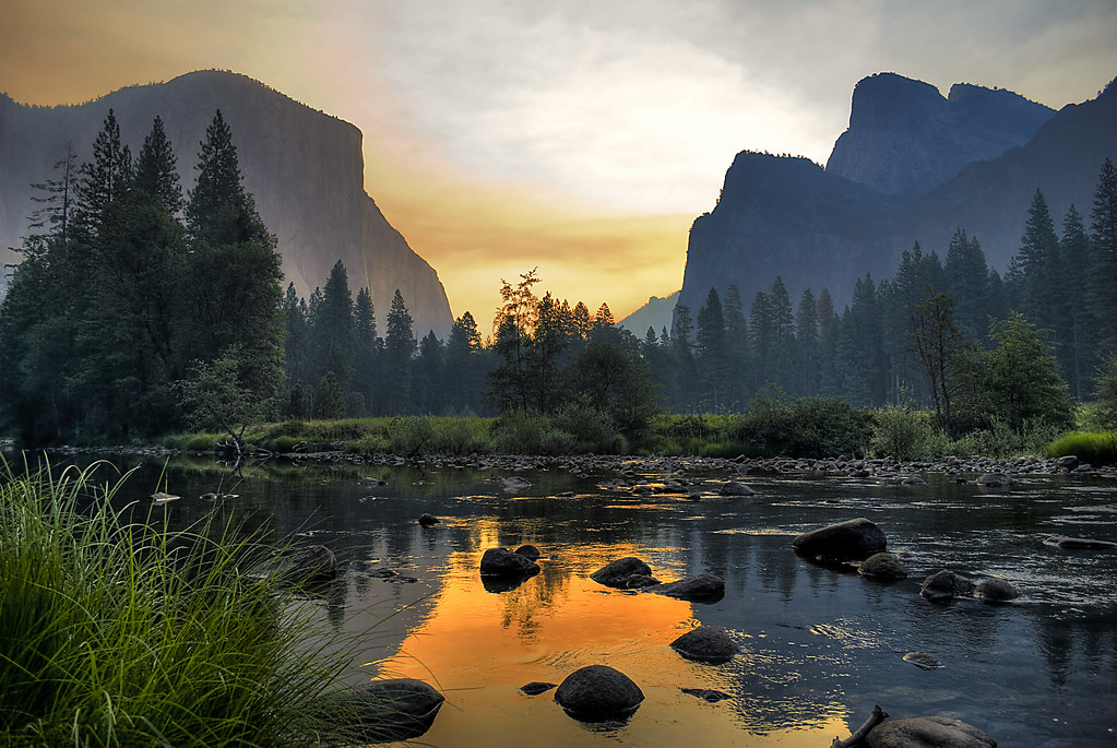 Amaneciendo en Yosemite