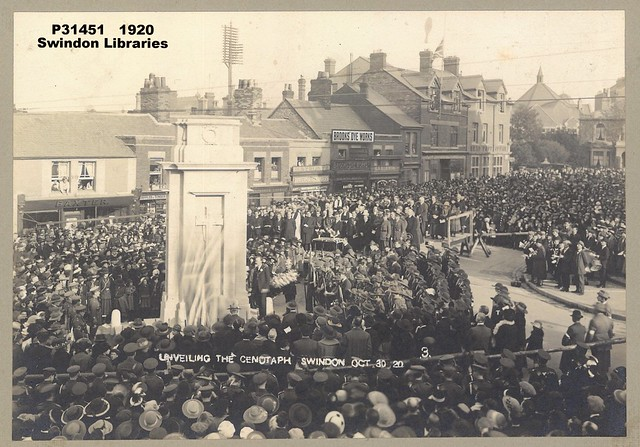 1920: Unveiling the Swindon Cenotaph (#3)