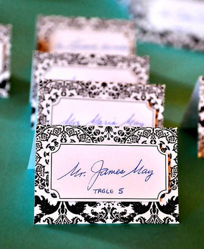 wedding reception cards