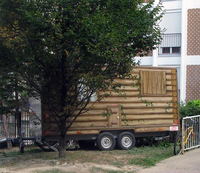 Log Cabin Trailer Flickr Photo Sharing