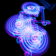 Roomba Light Trails - First Run