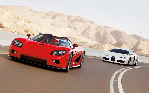 koenigsegg ccx vs bugatti veyron veyron whitte. Black Bedroom Furniture Sets. Home Design Ideas