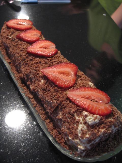 Choc Ripple Cake Recipe