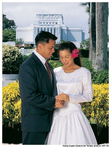 Mormon Temple Marriage