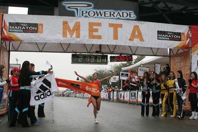 Resultados Maratón de Monterrey 2011