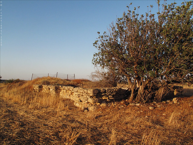 Agios Sozomenos, old reservoir