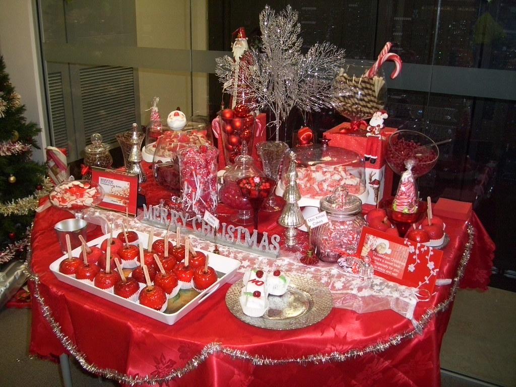 christmas candy table ideas